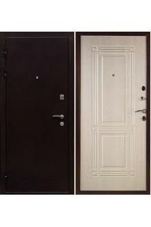 Входная металлическая дверь Ратибор Стандарт медный антик/беленый дуб