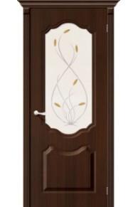 Межкомнатная дверь с ПВХ-пленкой Перфекта ПО венге