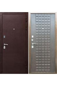 Входная металлическая дверь Ратибор Квадро венге