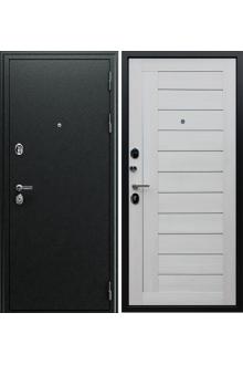 Входная металлическая дверь Соло «Белая лиственница»