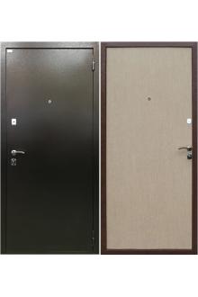 Входная металлическая дверь Ратибор Форт беленый дуб