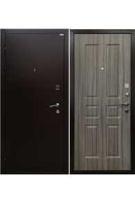 Входная металлическая дверь Ратибор Комфорт палисандр светлый