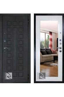 Входная металлическая дверь Кондор РАЙТВЕР Р-Сенат Life с зеркалом