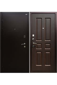 Входная металлическая дверь Ратибор Комфорт орех премиум