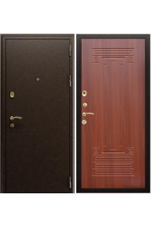 Входная металлическая дверь Триумф NEW Орех итальянский