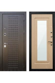 Входная металлическая дверь Кондор Реал Люкс Белёный дуб