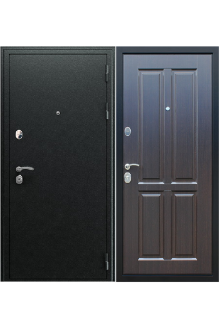 """Входная металлическая дверь АСД """"Прометей 3D"""" венге"""