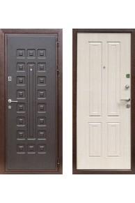 """Входная металлическая дверь Кондор X2 """"Беленый дуб"""""""