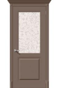 Межкомнатная окрашенная дверь Блюз по мокко