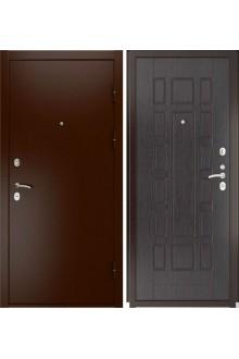 Входная металлическая дверь Luxor-3a (ПВХ, венге)