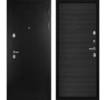 """Входная металлическая дверь Сударь С-505, Цвет """"Черное дерево"""""""