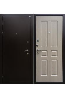 Входная металлическая дверь Ратибор Комфорт беленый дуб
