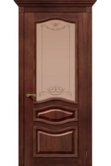 Межкомнатная шпонированная дверь Леона ПО Голд