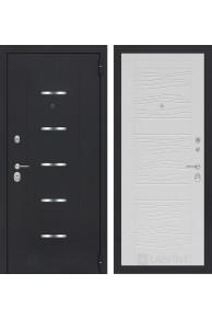 Входная металлическая дверь Лабиринт АЛЬФА 06 - Белое дерево
