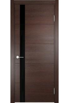 Межкомнатная дверь экошпон Турин 03( дуб графит вералинга)