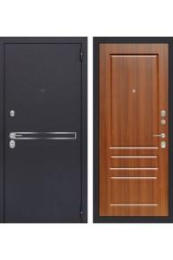 Входная металлическая дверь Лабиринт LINE 03 - Орех бренди