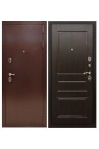 Входная металлическая дверь Снедо  Соломон РФ 3К - тёмный орех