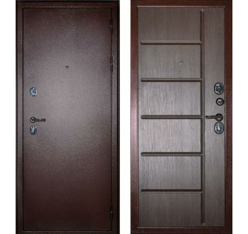 """Входная металлическая дверь Сударь С-503, Цвет """"Венге"""""""
