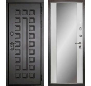 Входная металлическая дверь дверь Сударь МД-30 с зеркалом