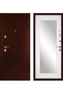 """Входная металлическая дверь Сударь С-503 Зеркало """"Сандал белый"""""""