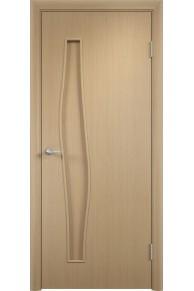 Межкомнатная дверь Тип С-10 беленый дуб