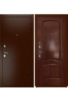Входная металлическая дверь Luxor-3a (лаура красное дерево)