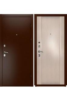 Входная металлическая дверь Luxor-3a (Синай-3 беленый дуб)