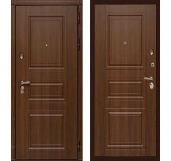 """Входная металлическая дверь Сударь МД-25 """"Орех бренди"""""""