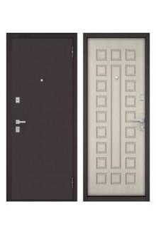 Входная металлическая  дверь Бульдорс МАСС 70 ларче бьянко M-100