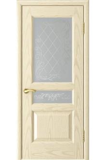Межкомнатная дверь Атлант-2 (ясень слоновая кость до)