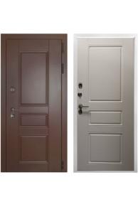 Входная металлическая дверь с терморазрывом Урал ПП  ясень белый