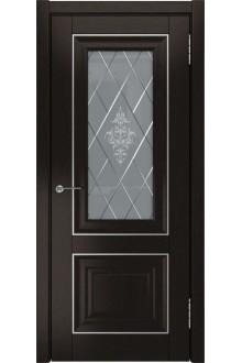 Межкомнатная дверь ЛУ-61 (Дуб темный, до)