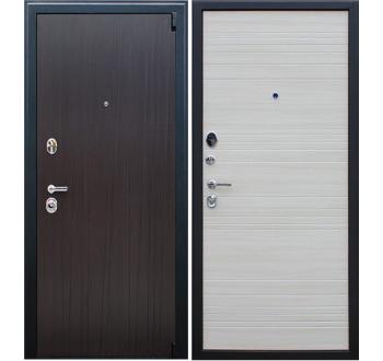 Входная металлическая дверь АСД «Next 2» Акация светлая