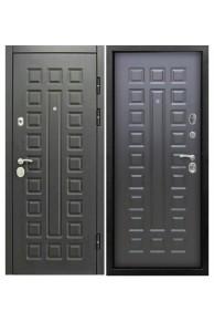 Входная уличная металлическая дверь Снедо Сенатор 3К Винорит Венге/Венге