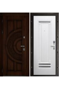 Входная  металлическая дверь Атлант Рим жем. ясень