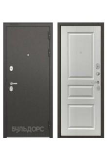 Входная металлическая дверь Бульдорс STANDART 90 ларче белый 9SD-2