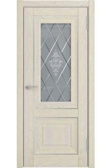 Межкомнатная дверь ЛУ-62 (дуб айвори, до)