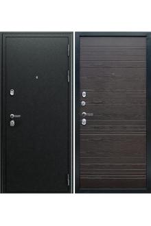 Входная металлическая дверь АСД «Next 1» Венге поперечный