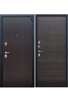 Входная металлическая дверь АСД «Next 2» Венге поперечный