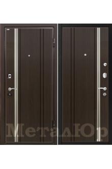 Входная металлическая дверь МеталЮр М2, венге