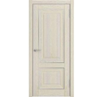 Межкомнатная дверь ЛУ-62 (дуб айвори, дг)