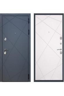 Входная металлическая дверь Rex 13 ( Силк сноу )