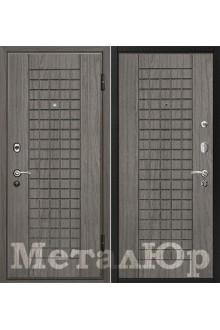 Входная металлическая дверь МеталЮр М4 Графит