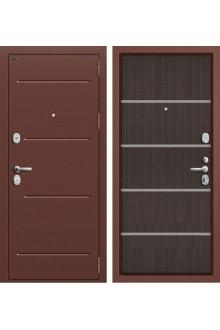 Входная металлическая дверь Groff T2-204 (Венге Кросскут)