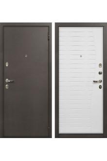 Входная металлическая дверь Лекс 1А Волна белый ясень