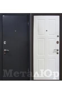 Входная металлическая дверь МеталЮр М21, белый