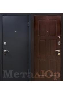 Входная металлическая дверь МеталЮр М21, венге