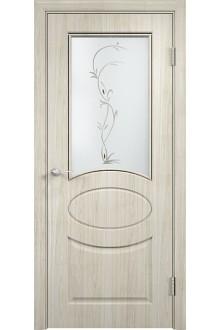 Межкомнатная дверь Гера беленый дуб мелинга вьюн