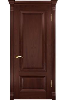 Межкомнатная дверь Фараон-1 (ДГ красное дерево)