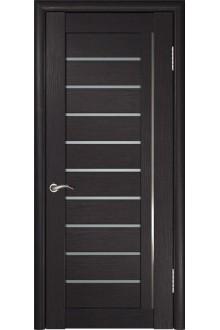Межкомнатная дверь ЛУ-25 (Венге)